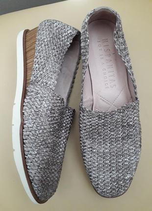37 p. hispanic мягкие испанские туфли мокасины