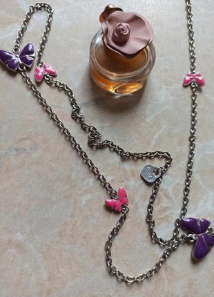 Нежнейшая цепочка ожерелие эмаль италия бюжетерия