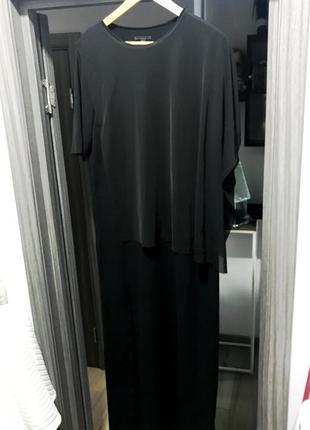 Cos ассиметричное платье в пол