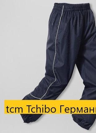 Водонепроницаемые штаны дождевик tchibo германия размер 146-152