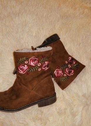 Ботинки ботиночки весенние сапоги