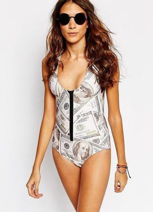 Mr gugu & miss go dollar swimsuit купальник доллар