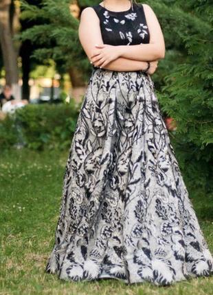 Шикарна випускна вечірня сукня
