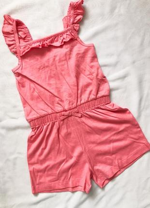 Ромпер розовый