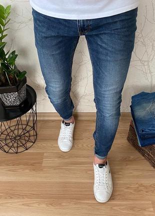 Мужские зауженные джинсы f&f