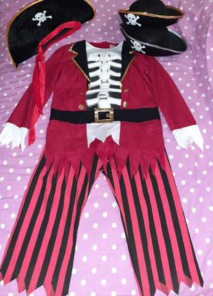 Карнавальный костюм пирата на 10-11 лет.