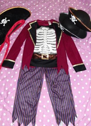 Карнавальный костюм пирата на 9-10 лет