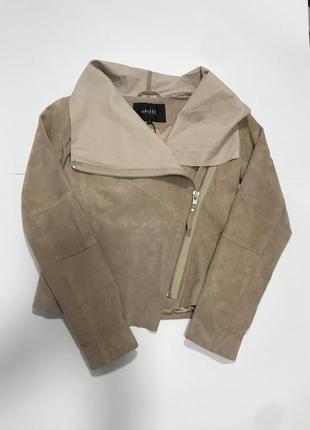 Замшевая куртка mbym outerwear