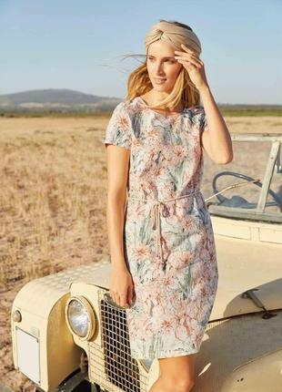 Летнее платье с принтом от известного немецкого бренда