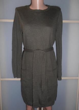 Стильное платье под пояс