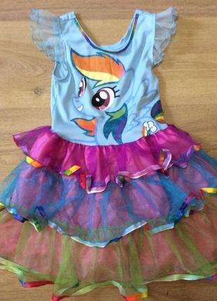 Платье пони рамбудеш оригинал размер 3-4 года