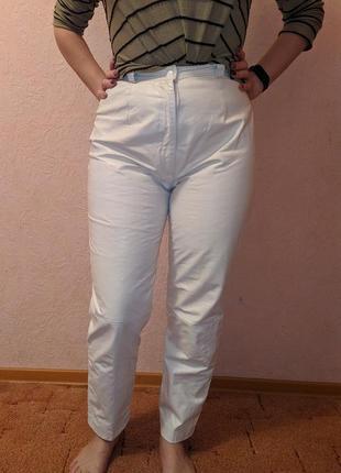Кожаные брюки, размер l