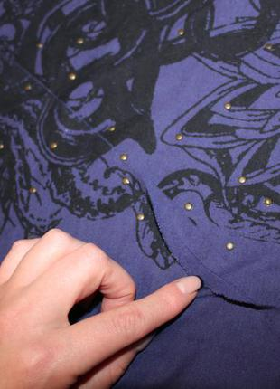 Фиолетовый сарафан макси4