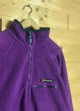 Vintage berghaus fleece кофта