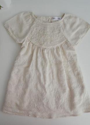 Крутое платье зара на 2-3г,послед.коллекция.