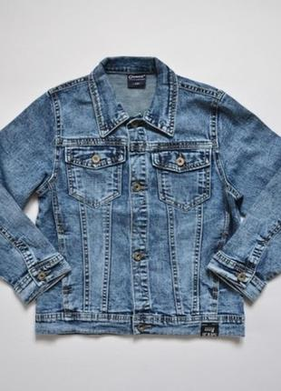 Джинсовый пиджак для мальчика р.134-164 (арт.86336) венгрия