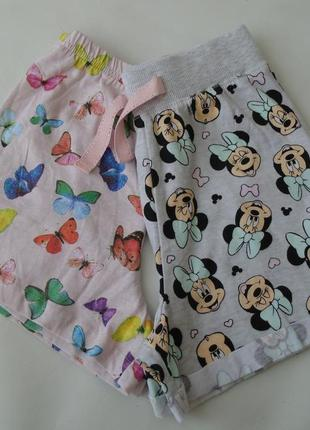 Набор 2 ед. пижама пижамные шорты 8-9 лет 134 см primark