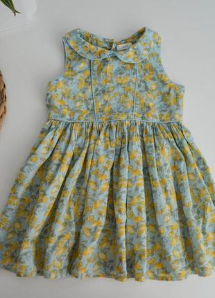 Легкое платье некст на 2-3г.