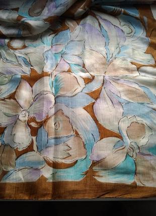 Шелковый платок от немецкого дизайнера peter halm