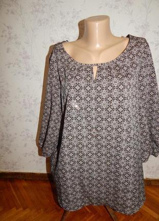 Debenhams блузка стильная модная р16 новая