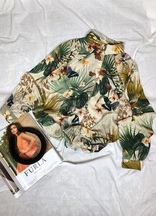 Рубашка в принт h&m
