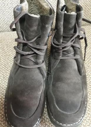 Ботинки натуральные,зима, италия