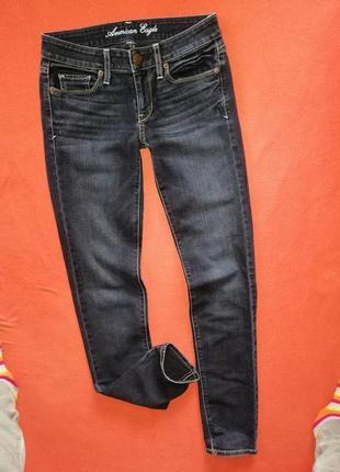 Стильные женские джинсы скинни american eagle 2 в прекрасном состоянии