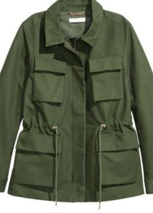 Куртка карго h&m