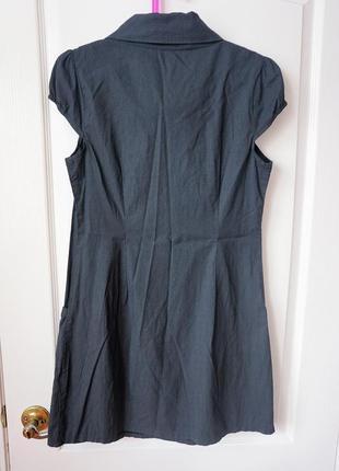 Классическое платье с рукавами-фонариками5