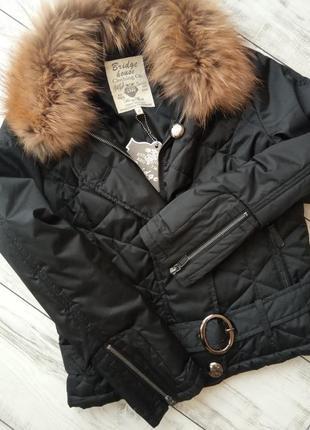 Фирменная демисезонная куртка женская стильная модная курточка