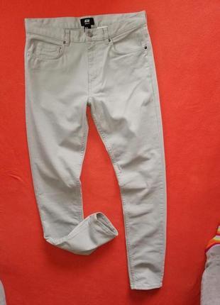 Стильные мужские джинсы скинни h&m 29 в прекрасном состоянии