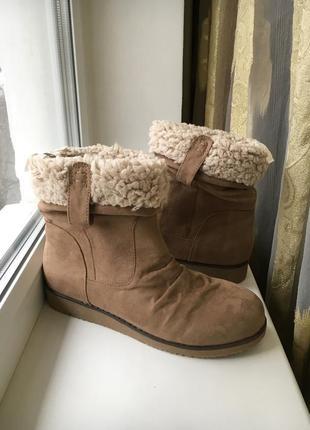 Сапоги ботиночки на меху george