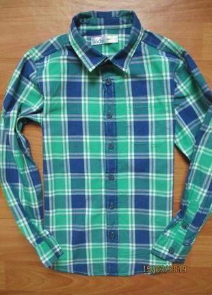 Стильная рубашка в клетку m&co