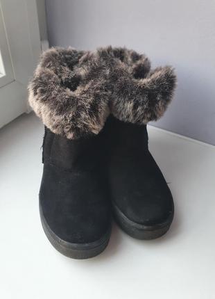 Сапоги ботинки на меху