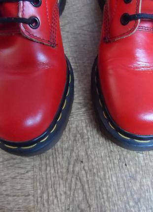 Кожаные сапоги берцы ботинки бренда dr. martens! производство англия!2