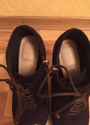 Ботильоны на высоком каблуке на шнуровке5
