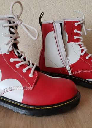 Dr.martens. ботинки. кожа. оригинал.