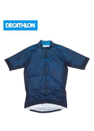 Велофутболка вело джерси decthlon triban jersej van rysel