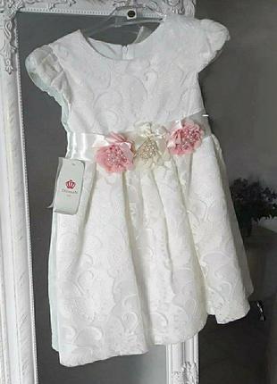 Роскошное нарядное платье на девочку