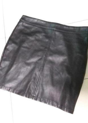 Короткая юбка (экокожа)