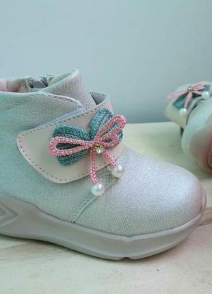 Нежнейшие невесомые демисезонные ботиночки для девочек