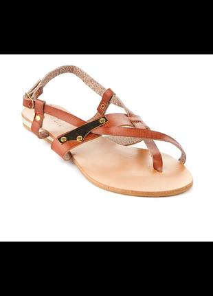 Босоножки сандалии колинз, кожа