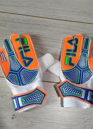 Перчатки футбольные fila