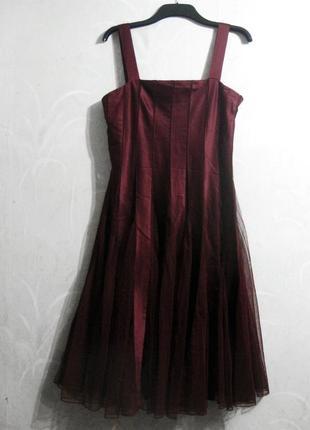 Красивое вечернее платье sara kelly by ellos атласное вамп коктейльное выпускное нарядное