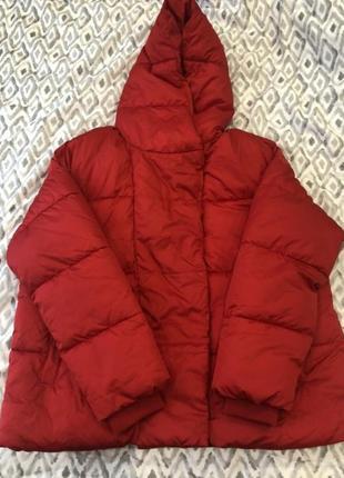 Куртка дутая пуффер зефир пуховик