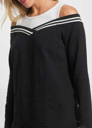 Джемпер/свитер с открытыми плечами