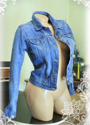 Джинсовая куртка,варенка,р.s-m1