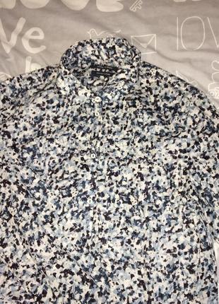 Рубашка блуза marc o polo пестрый принт