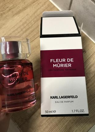 Karl lagerfeld fleur de murier парф вода