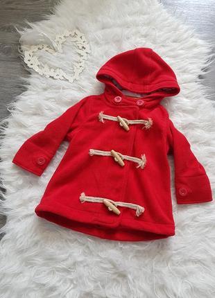 💖 стильная качественная красная кофта на флисе 100% коттон  в идеальном состоянии💕 next 💕